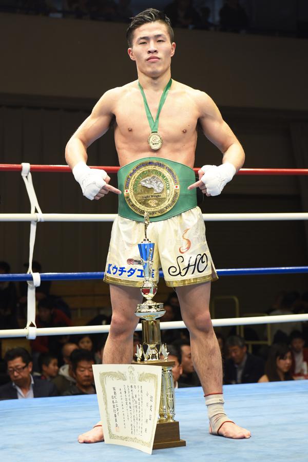小川翔 (OISHI) WBCムエタイ日本統一ライト級王者