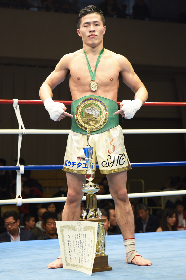 WBCムエタイ日本統一ライト級王者の小川翔が『NJKF 2018 1st』で初の防衛戦へ