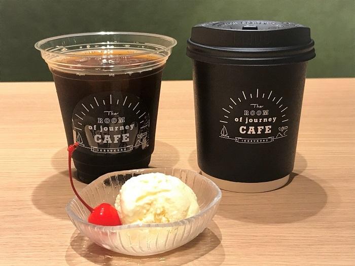 マーガレットカフェ(コーヒーor紅茶/アイス付き)各580円