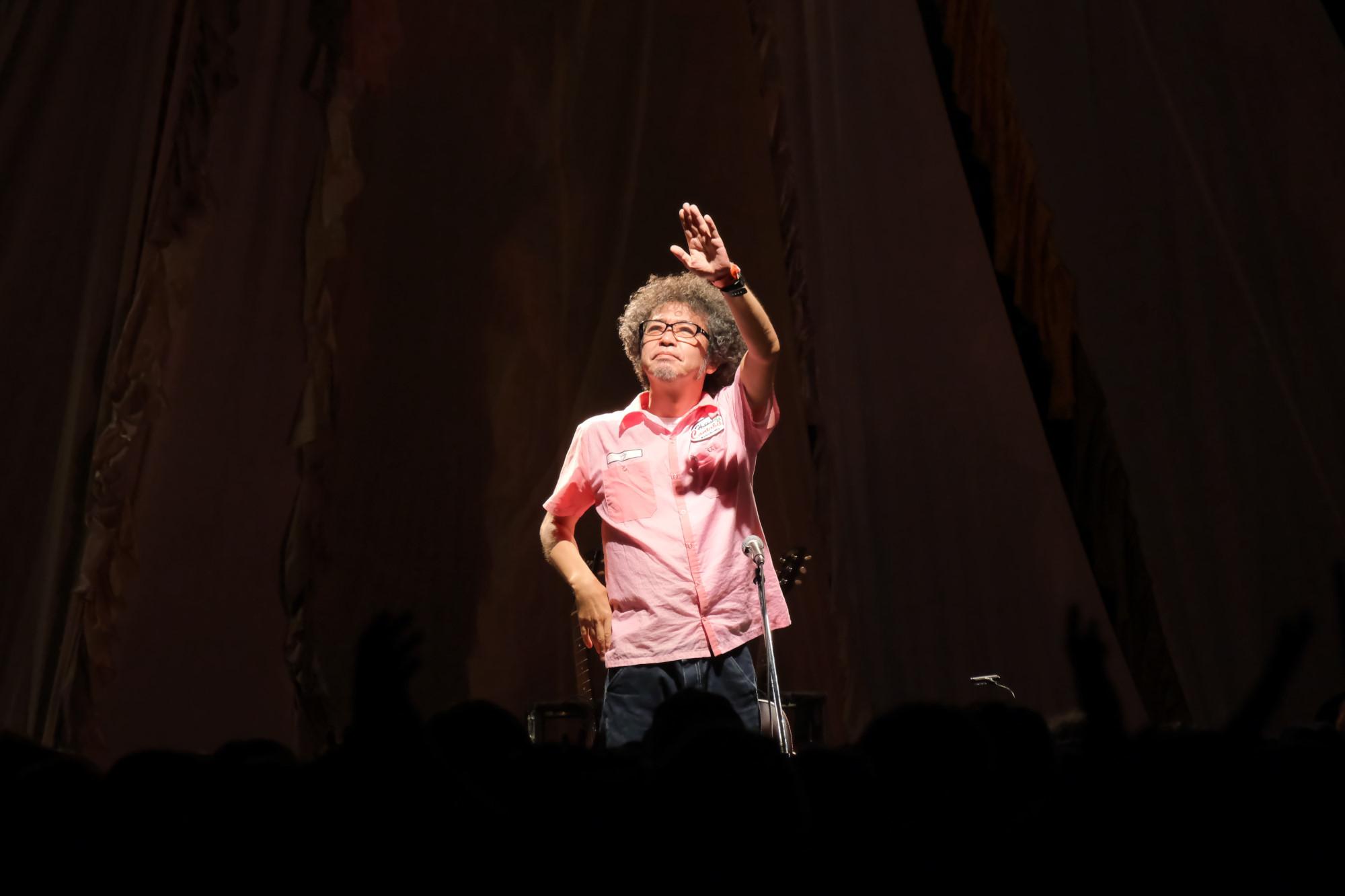 ホッカイカンタビレ/奥田民生ほか (C)RISING SUN ROCK FESTIVAL  photo by 原田直樹