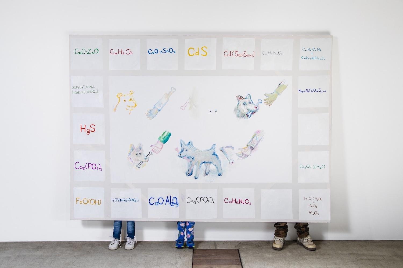 磯村暖「一時的に犬、 一時的に人、 一時的に絵」