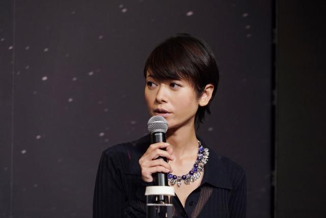 真木よう子 映画『孤狼の血』製作発表会