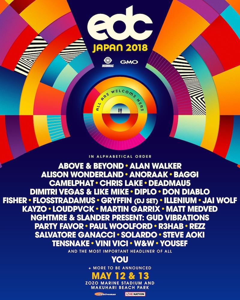 EDC JAPAN 2018
