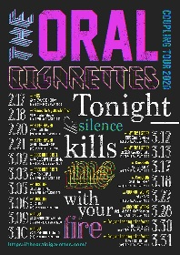 THE ORAL CIGARETTES主催対バンツアーにマイファス、ビーバー、ベガスら10組