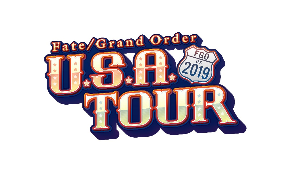『Fate/Grand Order U.S.A. Tour 2019』ロゴ (C)TYPE-MOON / FGO PROJECT