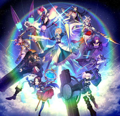 『Fate/Grand Order Fes. 2020 in TOKYO DOME ~5th Anniversary~』ビジュアル (C)TYPE-MOON / FGO PROJECT