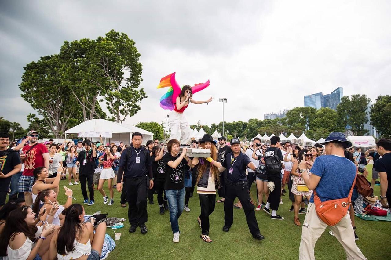 水曜日のカンパネラ Alvin Ho Laneway Festival Singapore