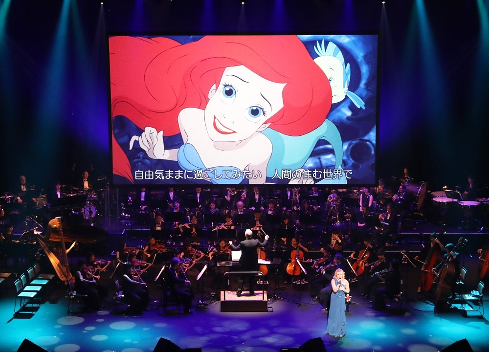 『リトル・マーメイド』 Presentation licensed by Disney Concerts. (c) Disney (C)1989 Disney