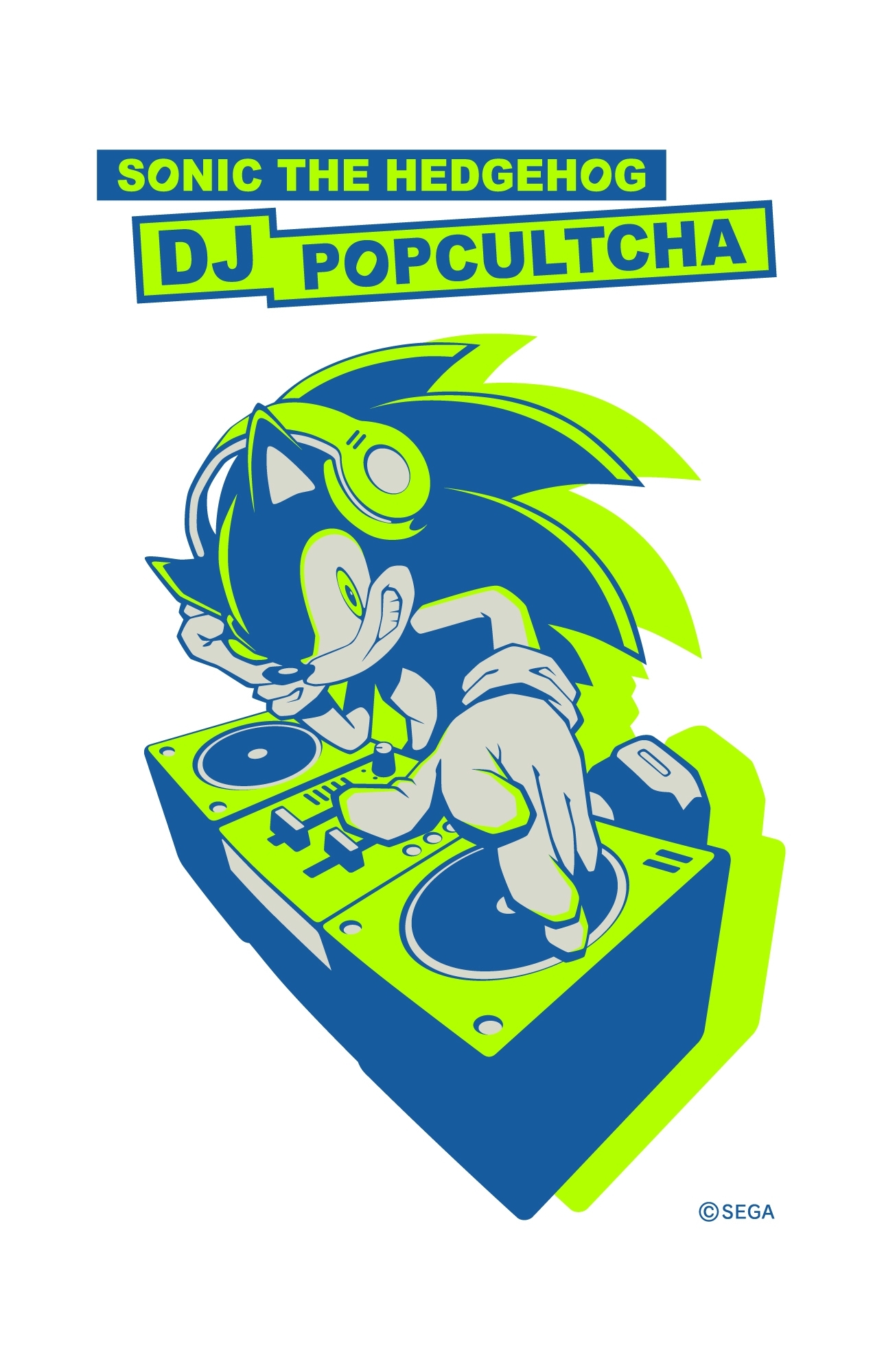 『SONIC THE HEDGEHOG DJ POPCULTCHA(ポップカルチャ)』 (C)SEGA