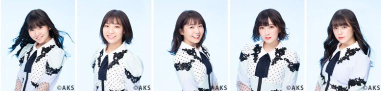 6月19日(水)は 上村亜柚香、日高優月、惣田紗莉渚、水野愛理、竹内彩姫が来場