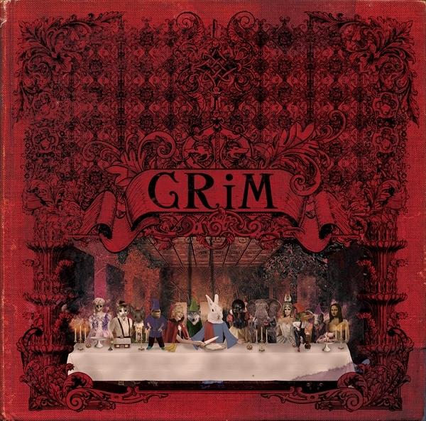 1ST FULL ALBUM『GRiM』[初回盤] CD+DVD / 3,500円 (税抜)