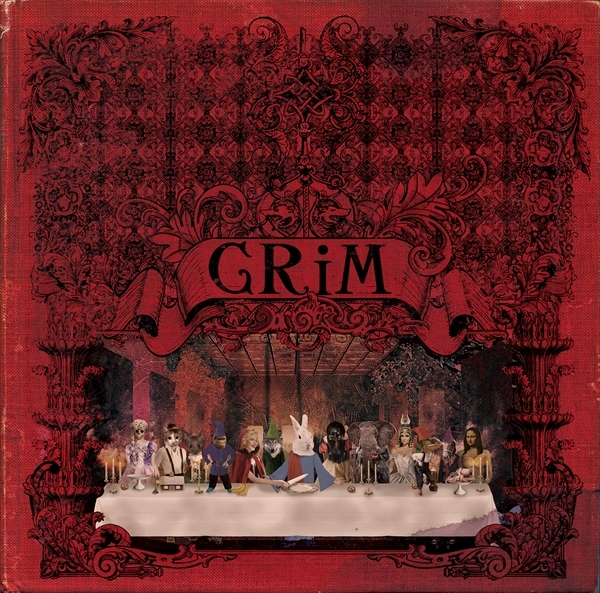 1ST FULL ALBUM『GRiM』[初回盤] CD+DVD / 3,500円 (税抜)