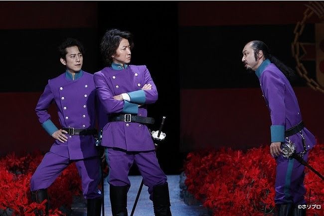 左から)溝端淳平、 藤原竜也、 河内大和(撮影:渡部孝弘)