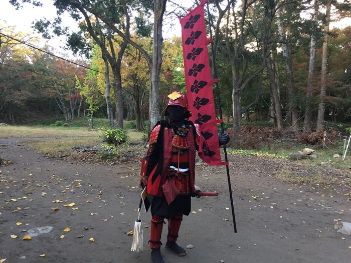 武田神社 のぼりを奪いし者