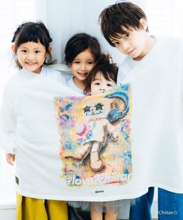 Lying chiitan BIG T  8,900円+tax 2018年10月上旬発売 COLOR:White SIZE:ONE SIZE