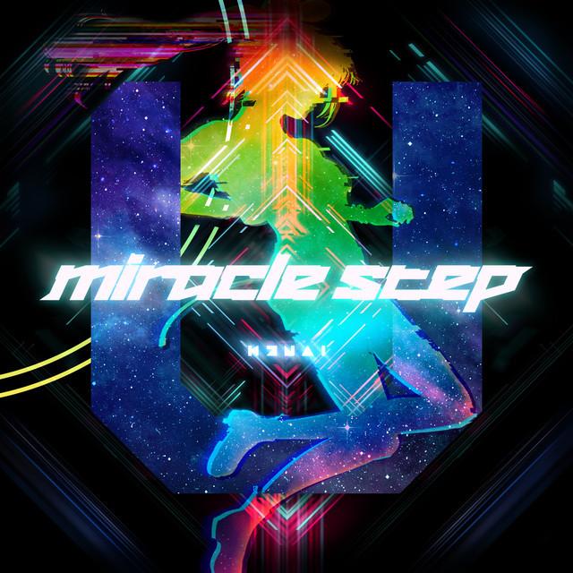 Kizuna AI(キズナアイ)「miracle step」配信ジャケット