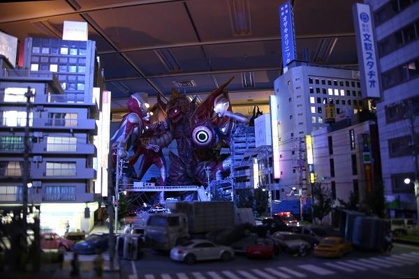 『超・体・感ウルトラマンフェスティバル2015』展示の様子