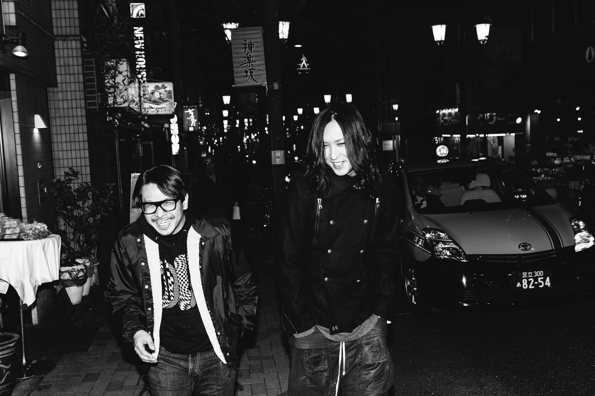 渡辺淳之介 × RUKA ©西槇太一