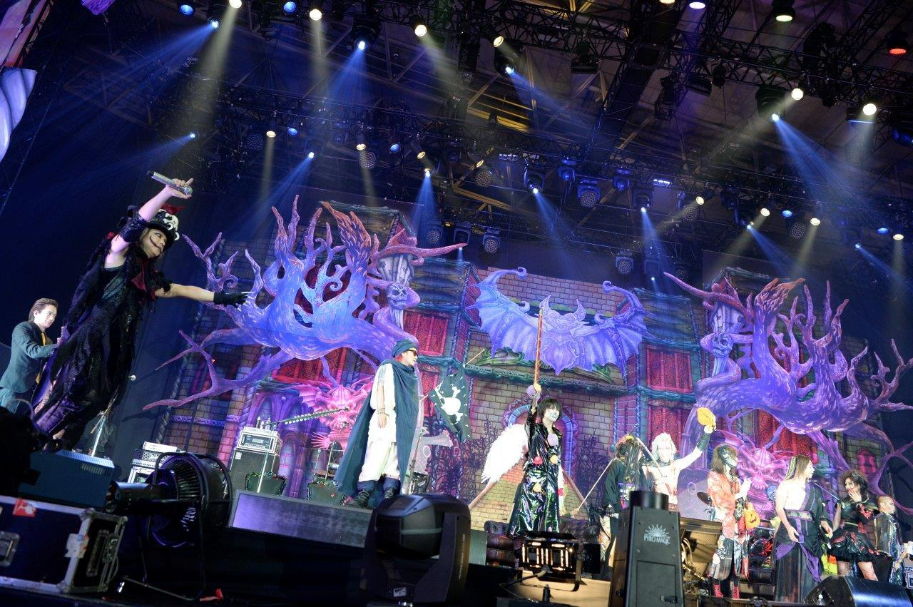 HALLOWEEN JUNKY ORCHESTRA『HALLOWEEN PARTY 2016』撮影=今元秀明、緒車寿一