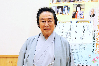 尾上菊五郎「次の世代に感じ取ってほしい」~「團菊祭五月大歌舞伎」『弁天娘女男白浪』を語る