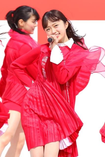 NGT48・中井りか 『祝・メジャーデビュー!NGT48ここからプレーボール!@HARD OFF ECOスタジアム新潟』