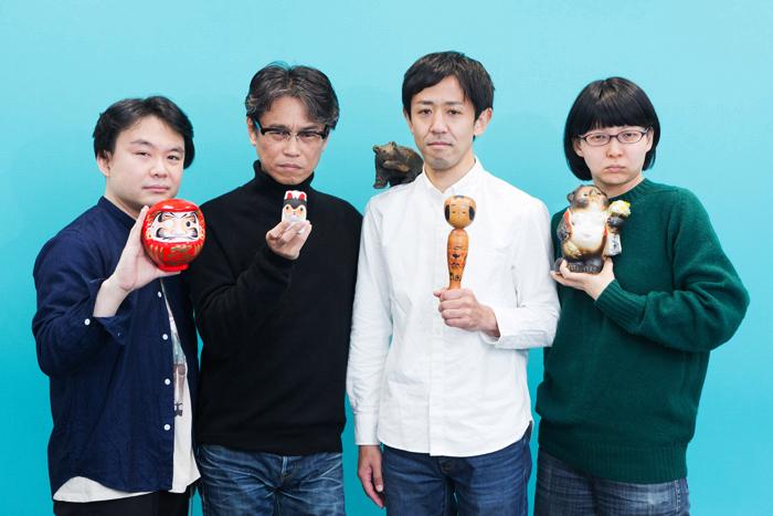 (左から)水谷圭一、天久聖一、濱津隆之、佐伯さち子  (撮影:敷地沙織)