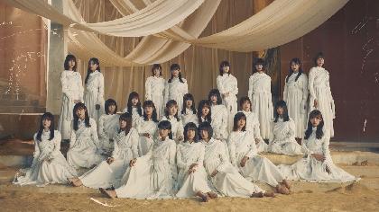 櫻坂46、2ndシングルの発売を記念し東京スカイツリーとコラボ 特別ライティングやMV撮影時の未公開写真を掲出したパネル展示など