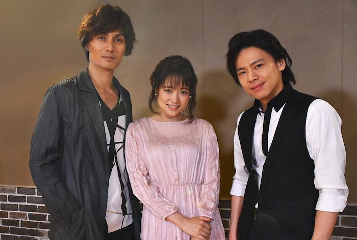 加藤和樹、大原櫻子、中川晃教(左から)