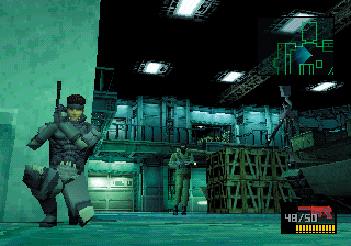 『METAL GEAR SOLID』ゲーム画面 (C)Konami Digital Entertainment