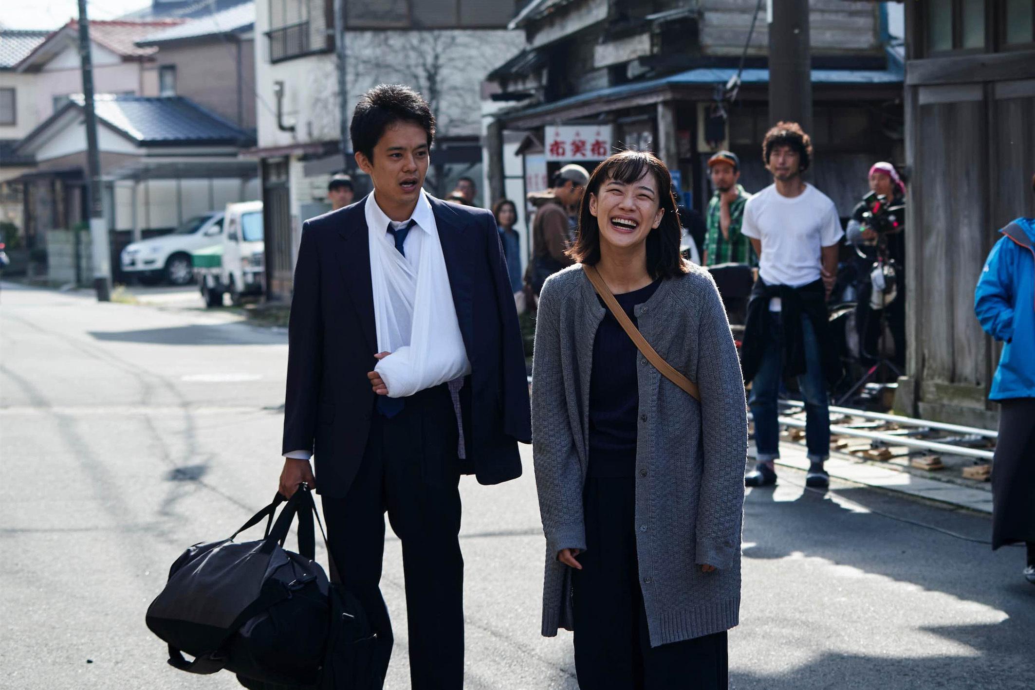 映画『宮本から君へ』メイキング  (C)2019「宮本から君へ」製作委員会
