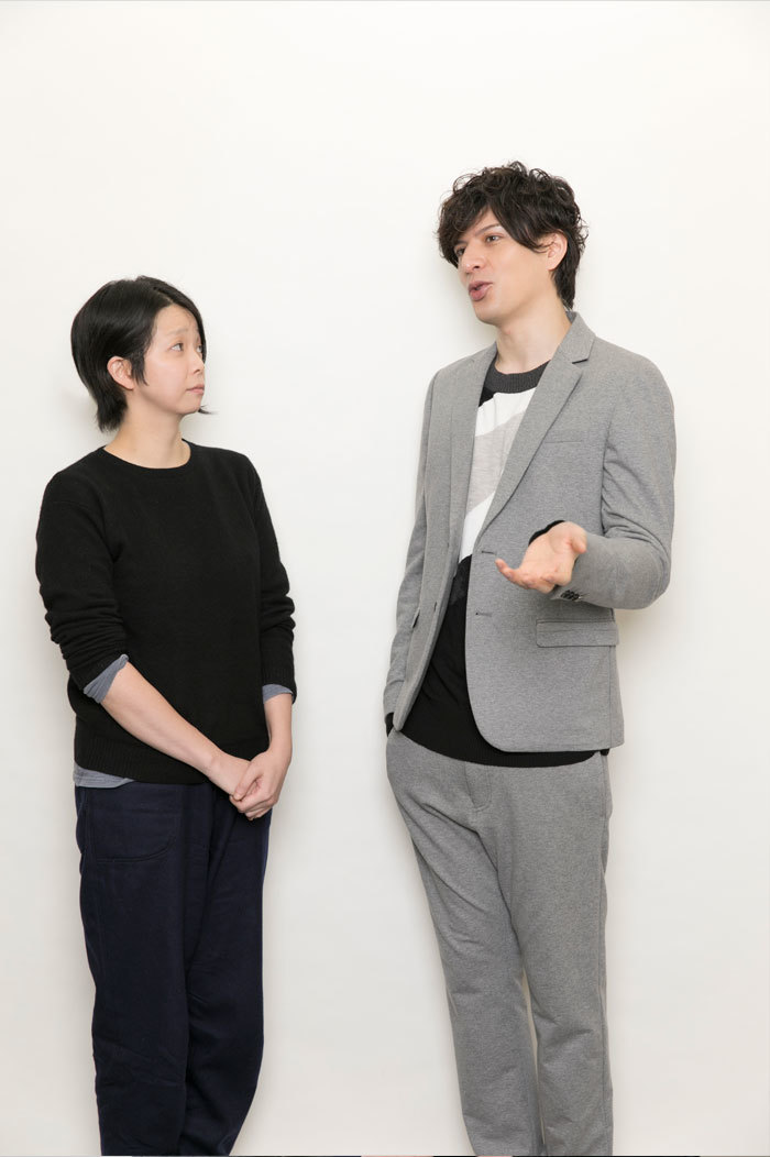 (左から)小川絵梨子、城田優