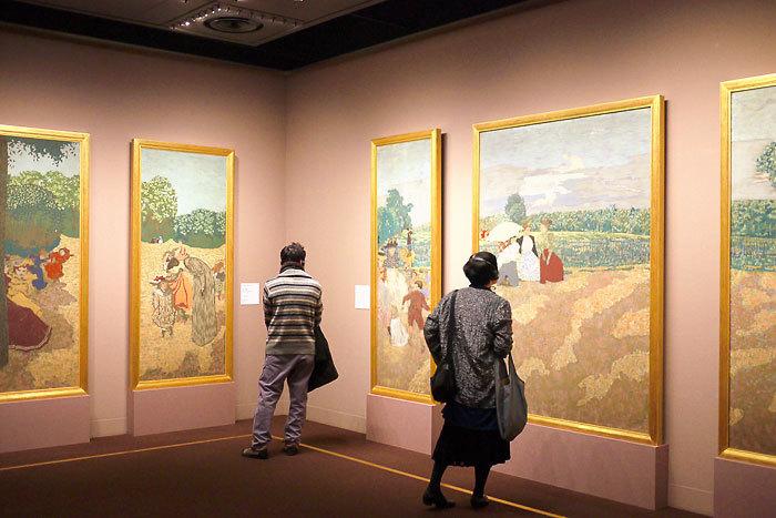 エドゥアール・ヴュイヤール《公園》1894年│オルセー美術館