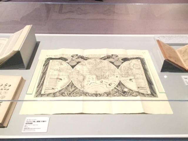ルドルフ2世の宮廷専属の数学者として仕えていた、ヨハネス・ケプラーが作成した《ルドルフ表》