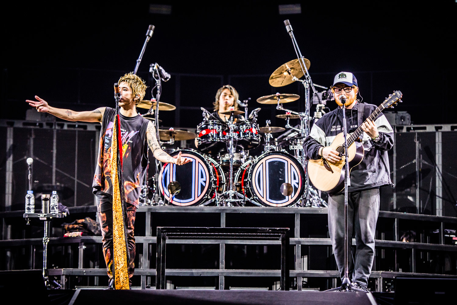 エド・シーラン / ONE OK ROCK photo by JulenPhoto