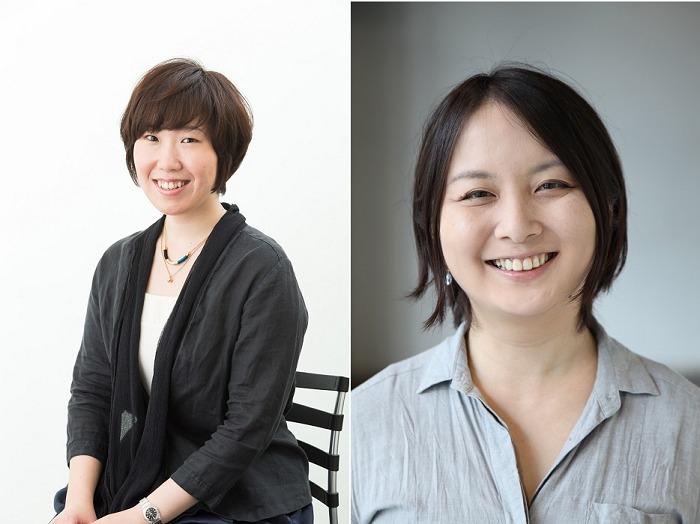 (左から)長田育恵 瀬戸山美咲