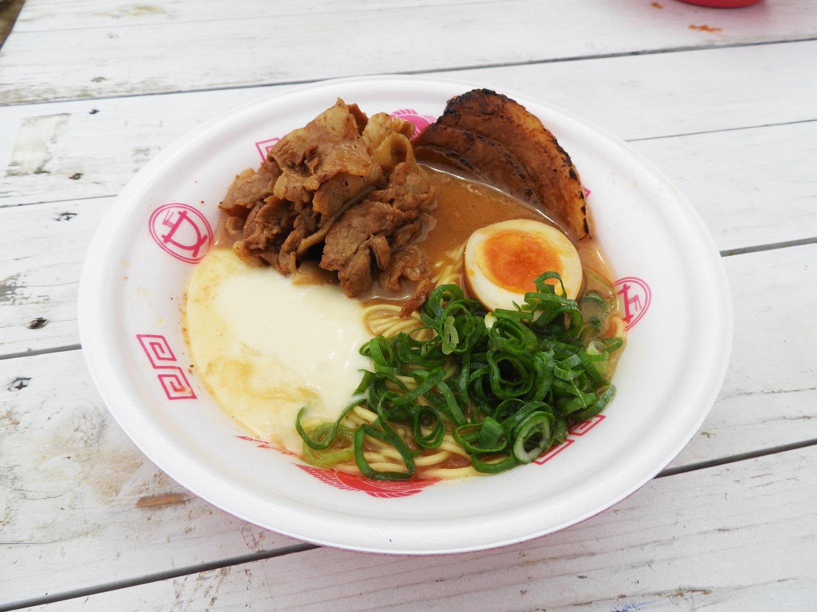 豚SOBA 一番星『炙り肉富士濃厚駿河味噌そば』<静岡>