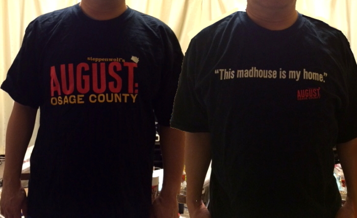 """August:Osage County"" T-shirts"