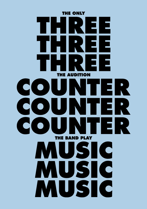 THREE COUNTER MUSIC
