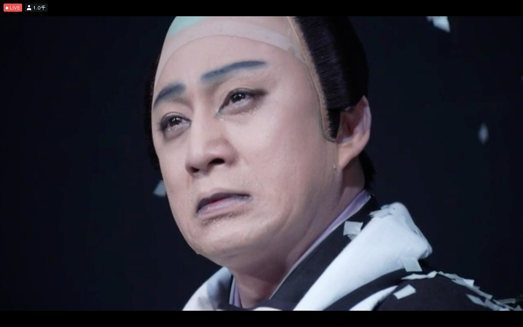 「図夢歌舞伎『忠臣蔵』第五回」大星由良之助=松本幸四郎