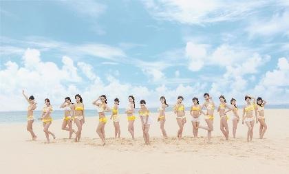 SKE48、小畑優奈初センターの新曲「意外にマンゴー」水着姿のアートワークを公開
