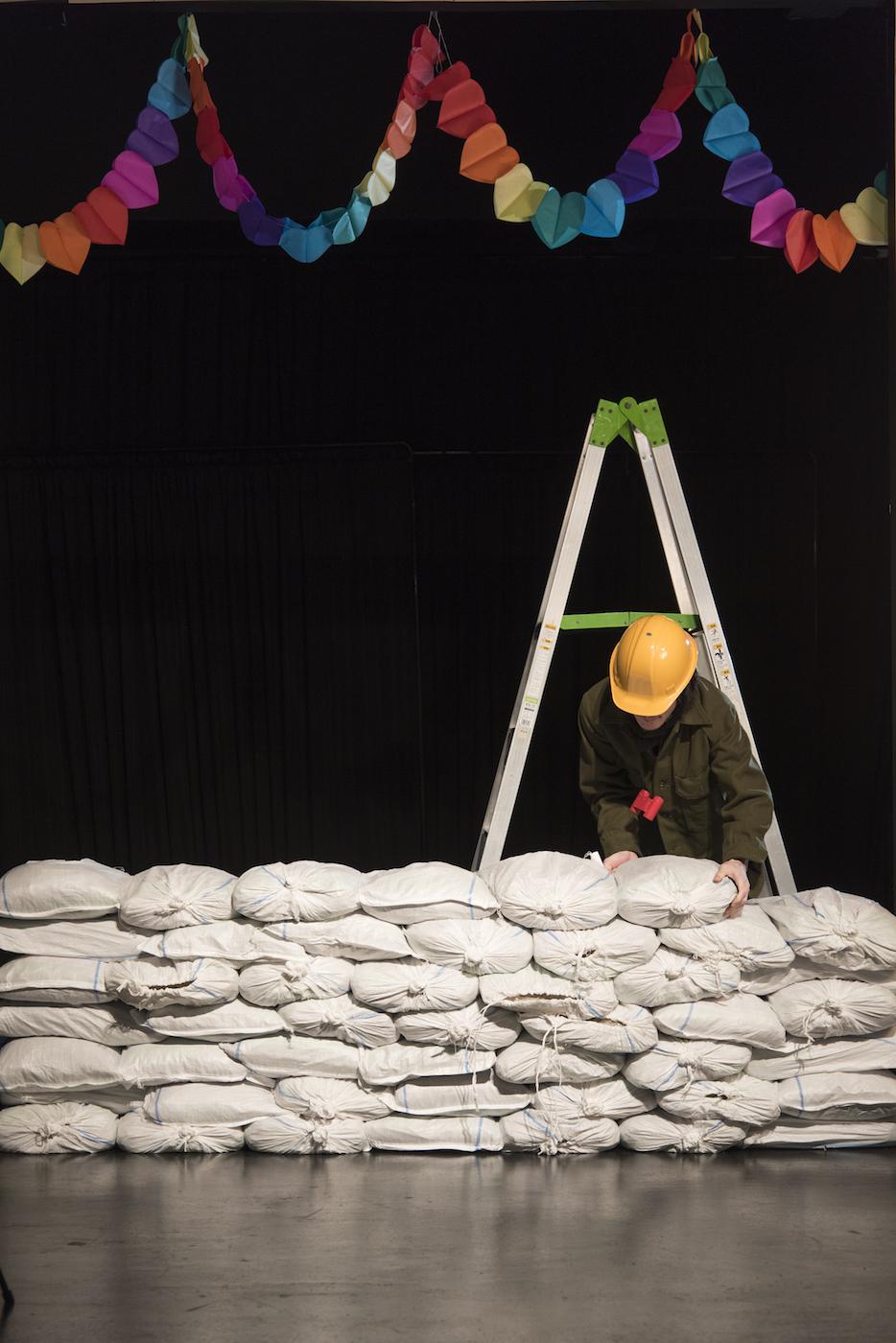 《第四の壁》2017-18 プロダクションショット 撮影:加藤甫