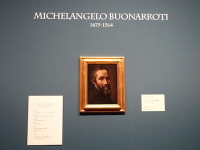 マルチェッロ・ヴェヌスティ(帰属)《ミケランジェロの肖像》 1535年頃 カーサ・ブオナローティ