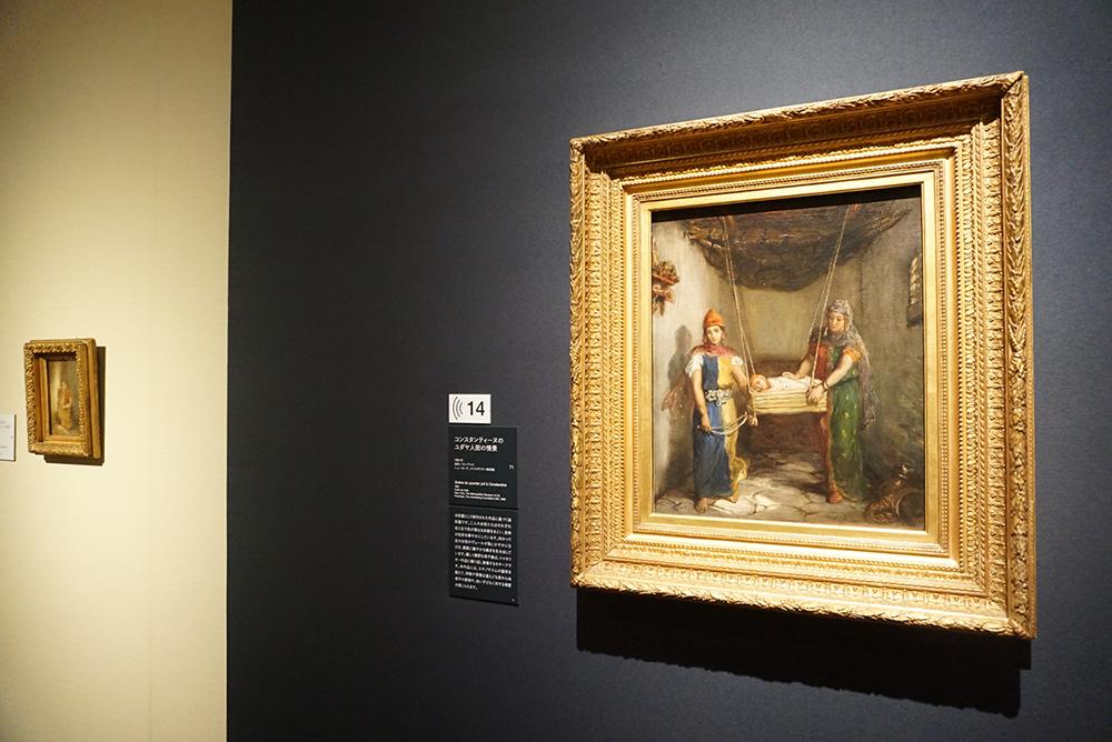 テオドール・シャセリオー <コンスタンティーヌのユダヤ人街の情景> 1851年 ニューヨーク、メトロポリタン美術館