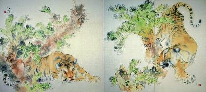 『京都市美術館所蔵品展』が、美術館「えき」KYOTOで開催 テーマは「動物パラダイス」