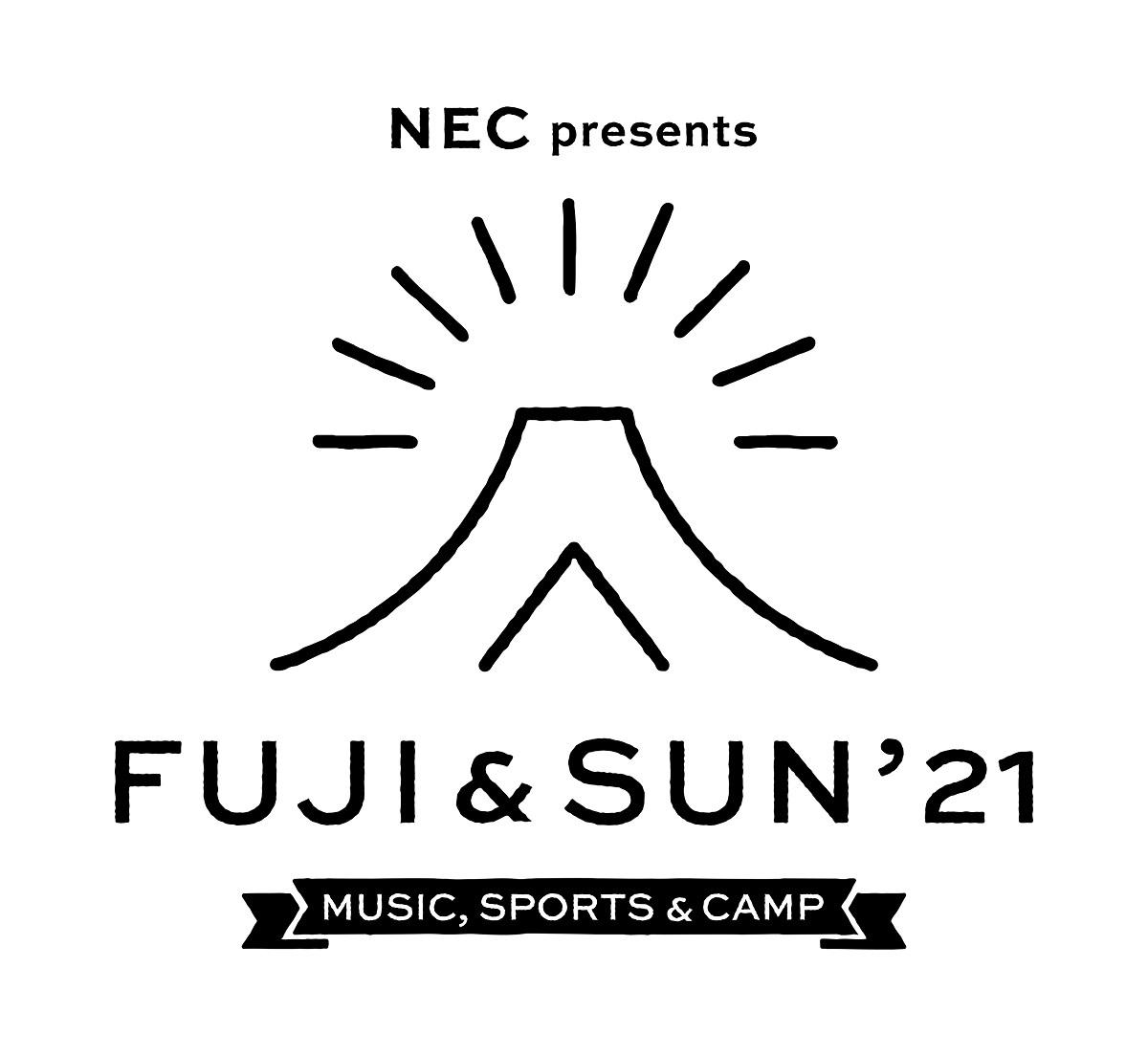 FUJI & SUN'21 ロゴ