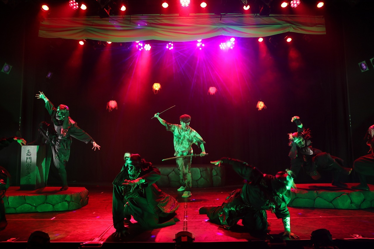 (C)真 Ninja Illusion LIVE The REAL  撮影:Shinsuke Yasui