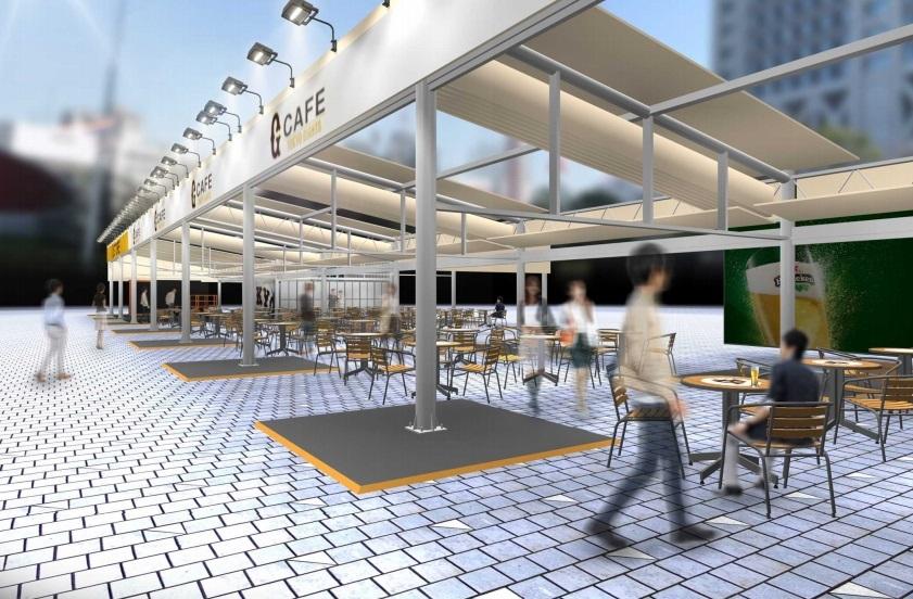 G CAFE(22ゲート前広場) ※画像はイメージ
