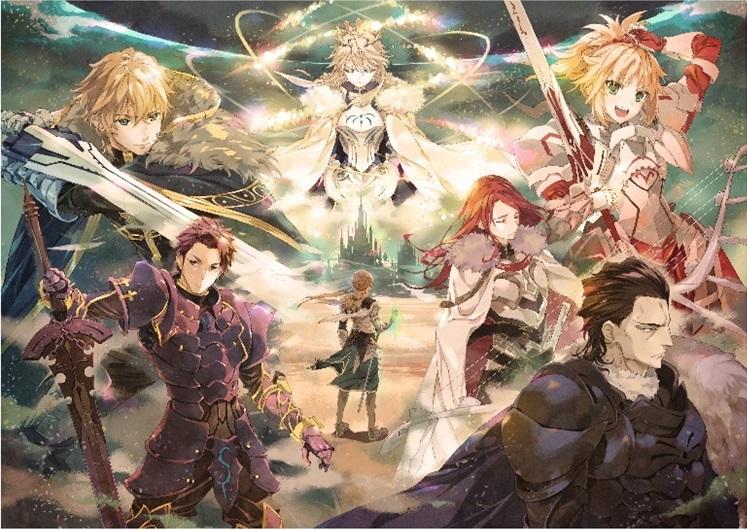 細居美恵子氏(Fate/Grand Order オープニングアニメーション キャラクターデザイン)による舞台イメージ イラスト第2弾 (C)TYPE-MOON/FGO STAGE PROJECT