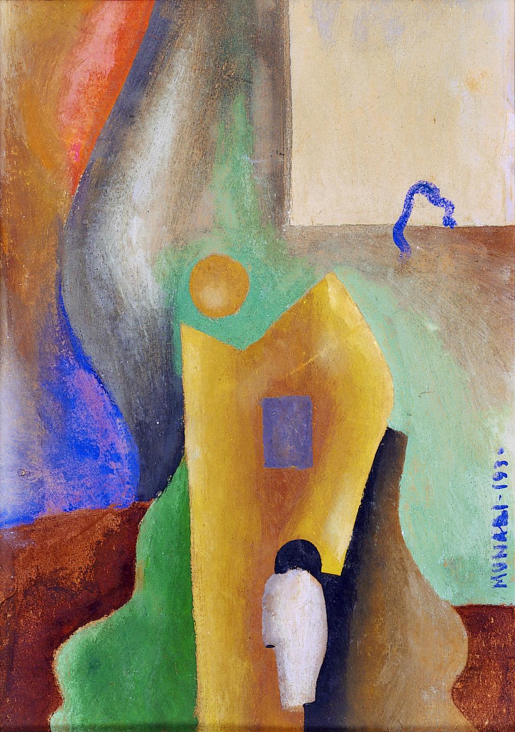 ブルーノ・ムナーリ 《無題》 1930年 カーサペルラルテ=パオロ・ミノーリ財団 (C) Bruno Munari. All rights reserved to Maurizio Corraini srl. Courtesy by Alberto Munari