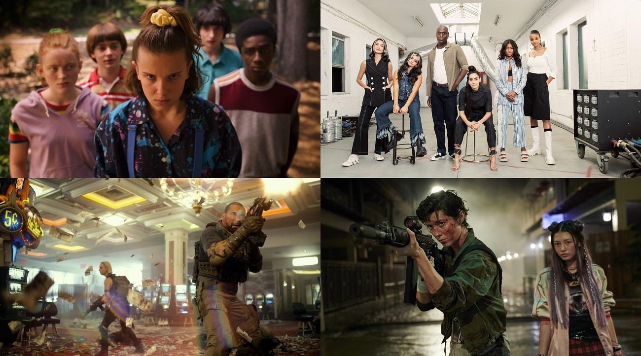 Netflix オリジナルシリーズ『ストレンジャー・シングス 未知の世界』はシーズン1から3が独占配信中。   Netflix映画『アーミー・オブ・ザ・デッド』は独占配信中。  Netflixオリジナルシリーズ『バイオハザード(原題)』近日配信予定。  Netflix 映画『Kate(原題)』9月10日より独占配信開始。